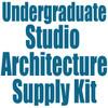 University of Colorado at Denver Undergraduate Studio Architecture Supply Kit