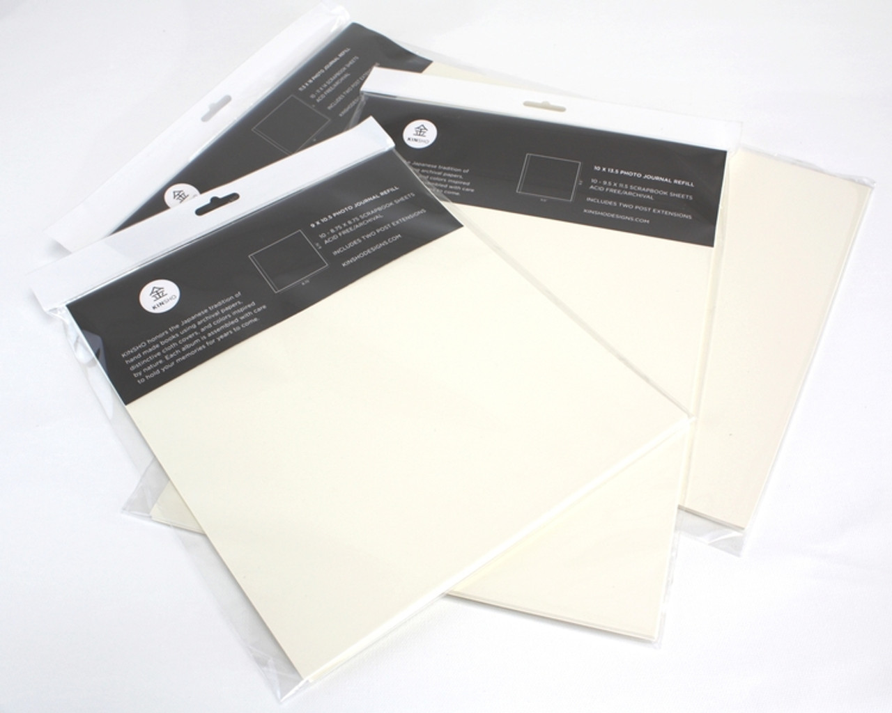 KINSHO Photo Journal Refill Pages 9x10.5 10pk