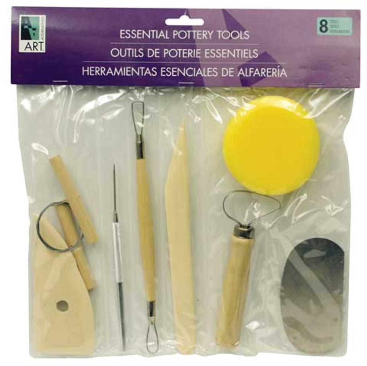 Pottery Tool 8pc Kit