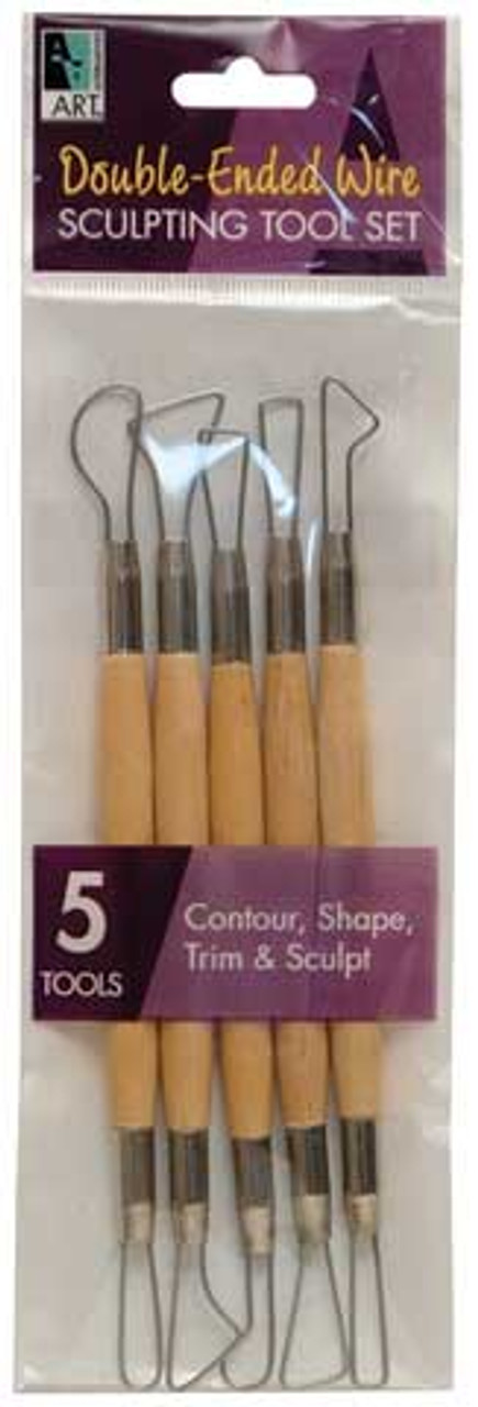 Double-Ended Wire Sculpting Tool Set
