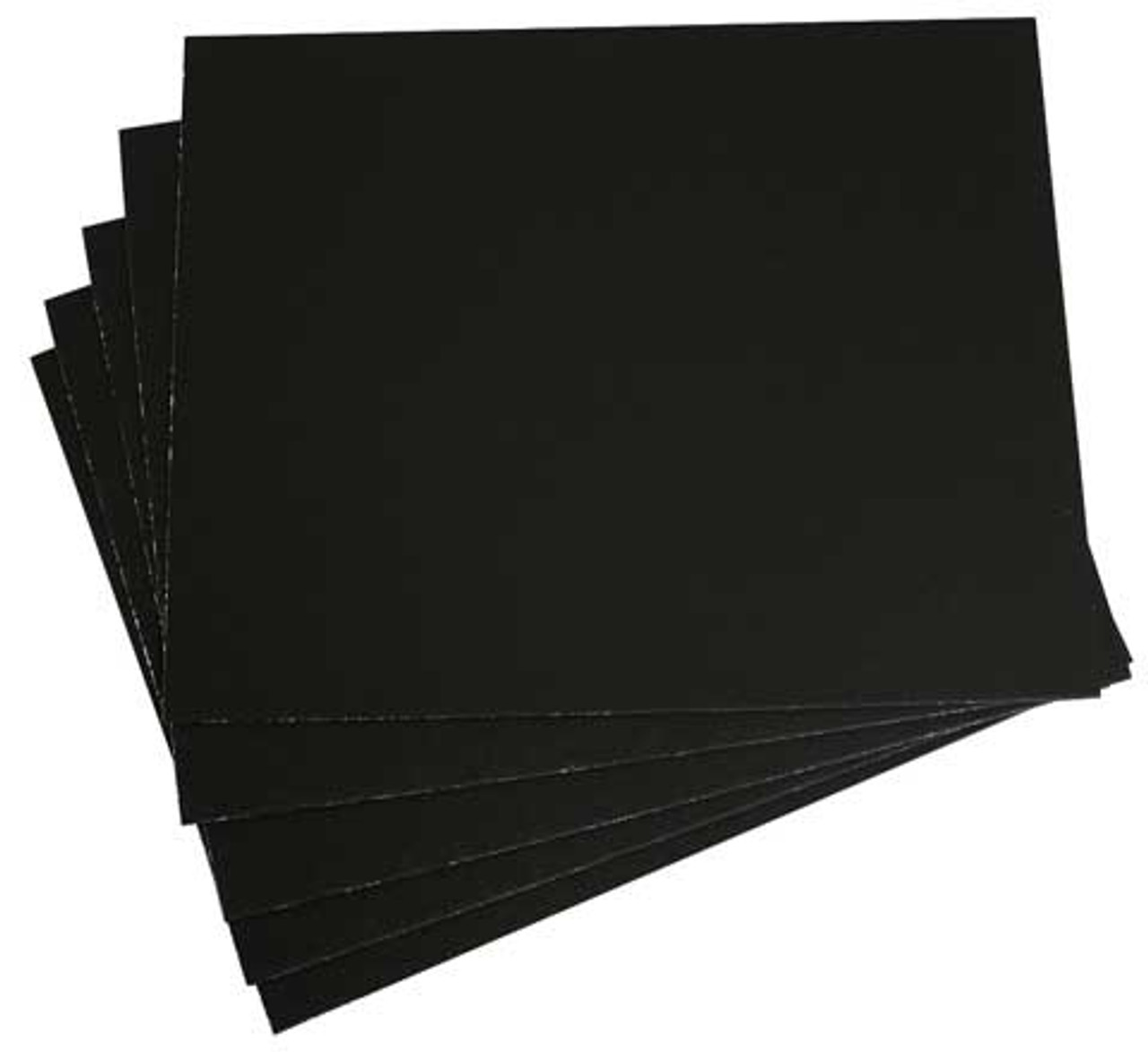 15x20 50pk Super Black Presentation & Mounting Boards