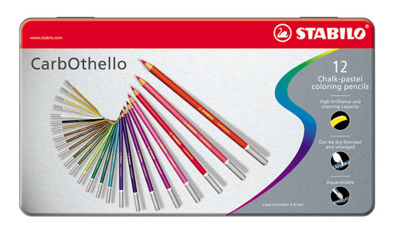 Stabilo Carbothello Pencil Set 12pc