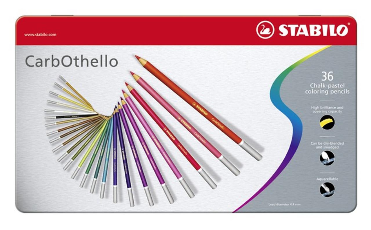 Stabilo Carbothello Pencil Set 36pc