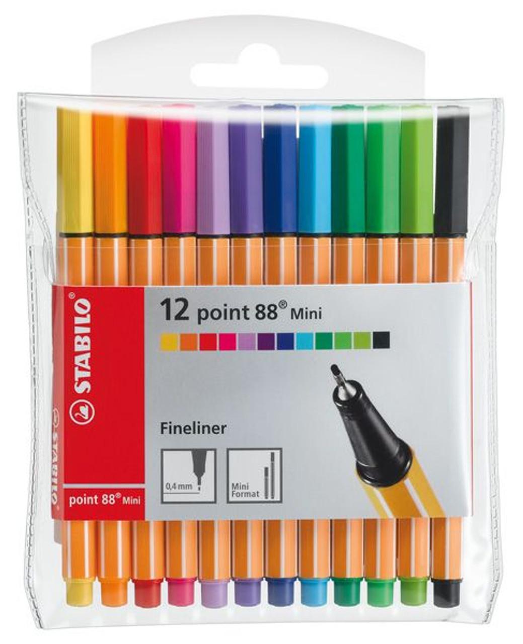 Stabilo Point 68 Pen 12pc Set