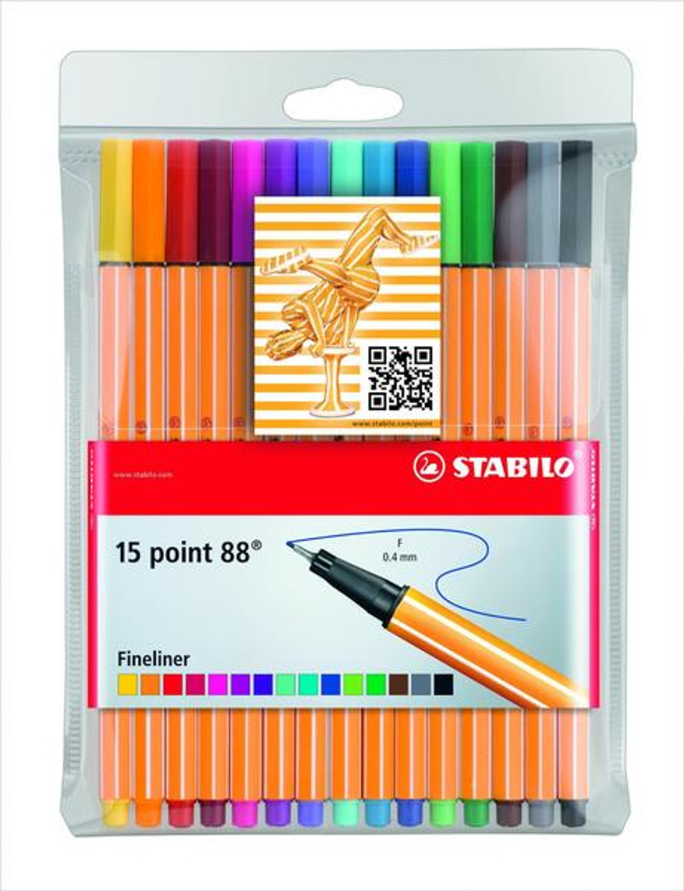 Stabilo Point 88 Fineliner Wallet 15