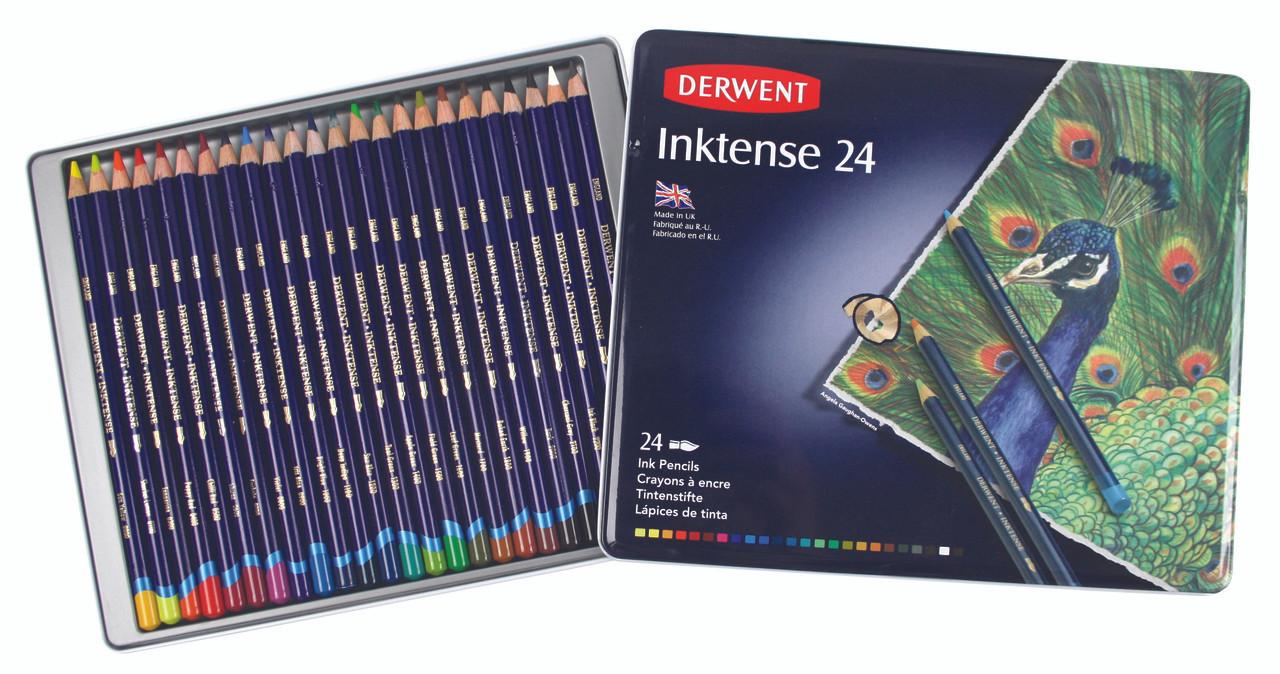 Derwent Inktense Pencil 24pc Tin