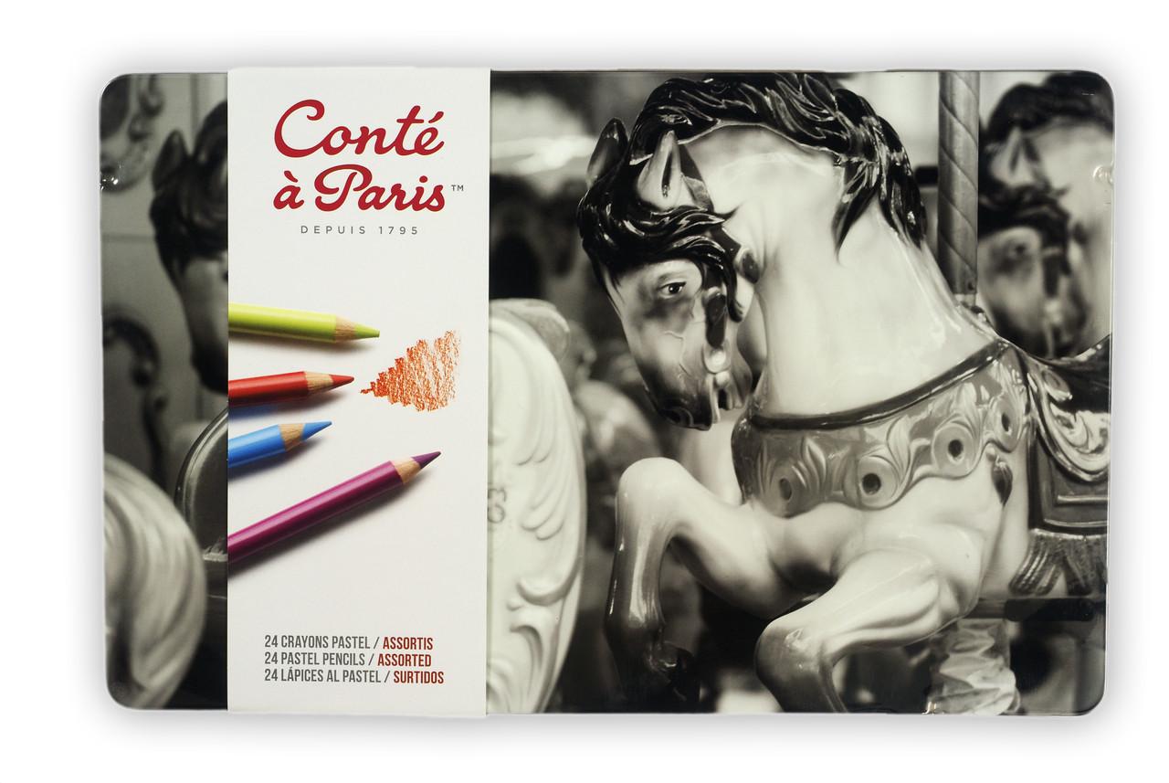 Conte Pastel Pencil 24pc Set
