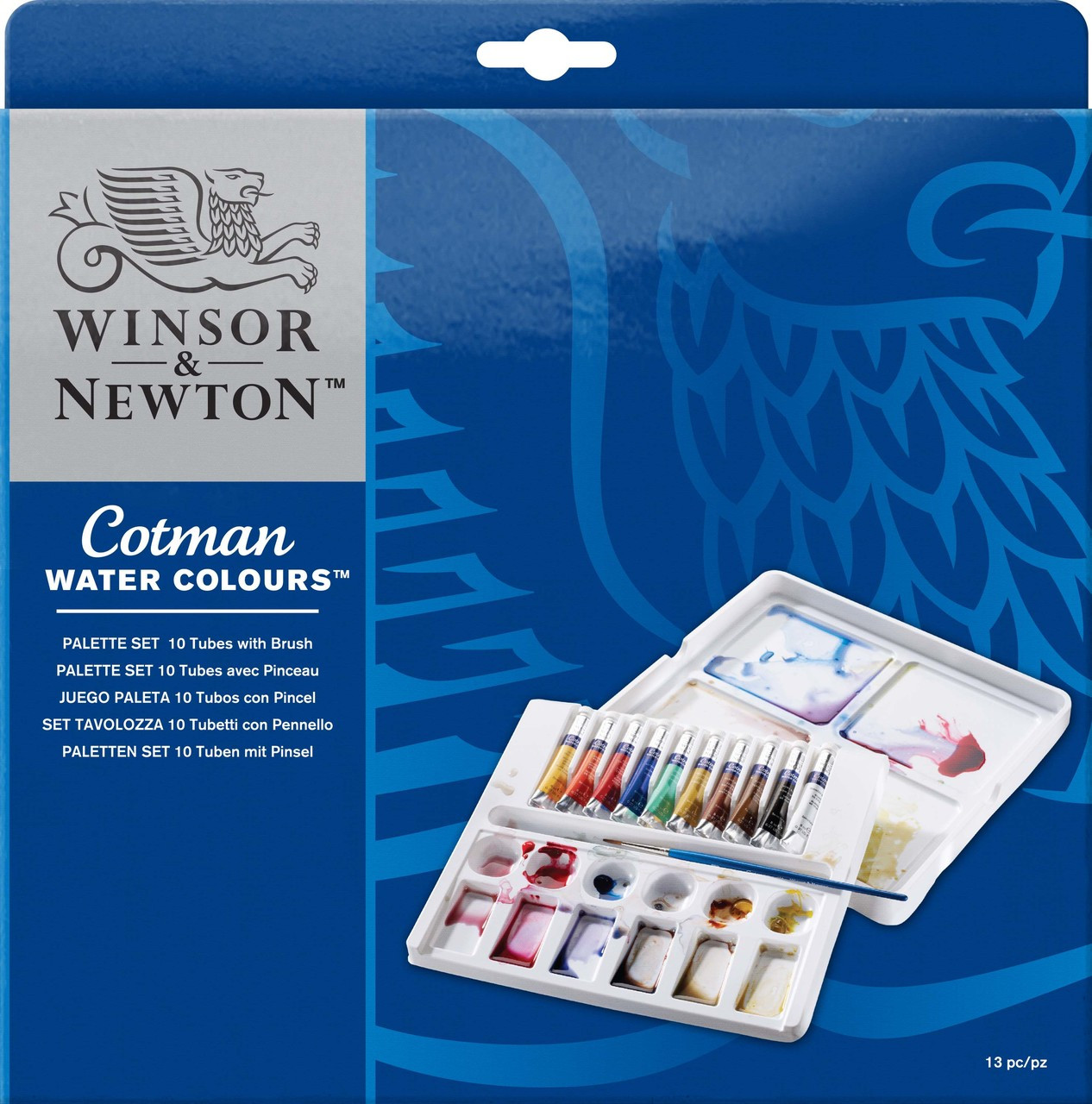 W&N Cotman Palette Set 10pc *Online only*