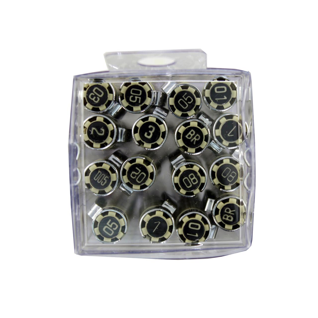 Pigma Micron 16-pen Cube Set All Black