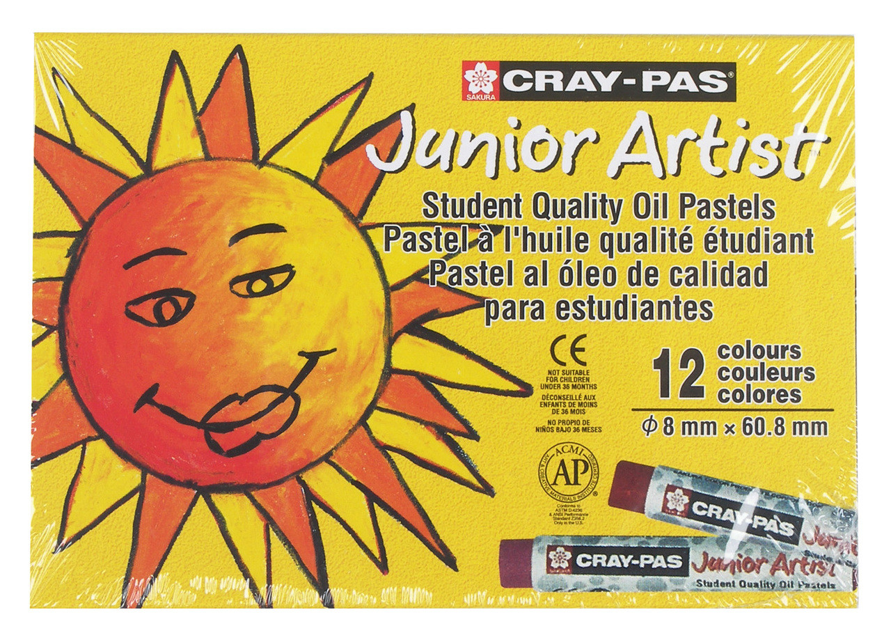 CrayPas Jr Asst Set 12pc