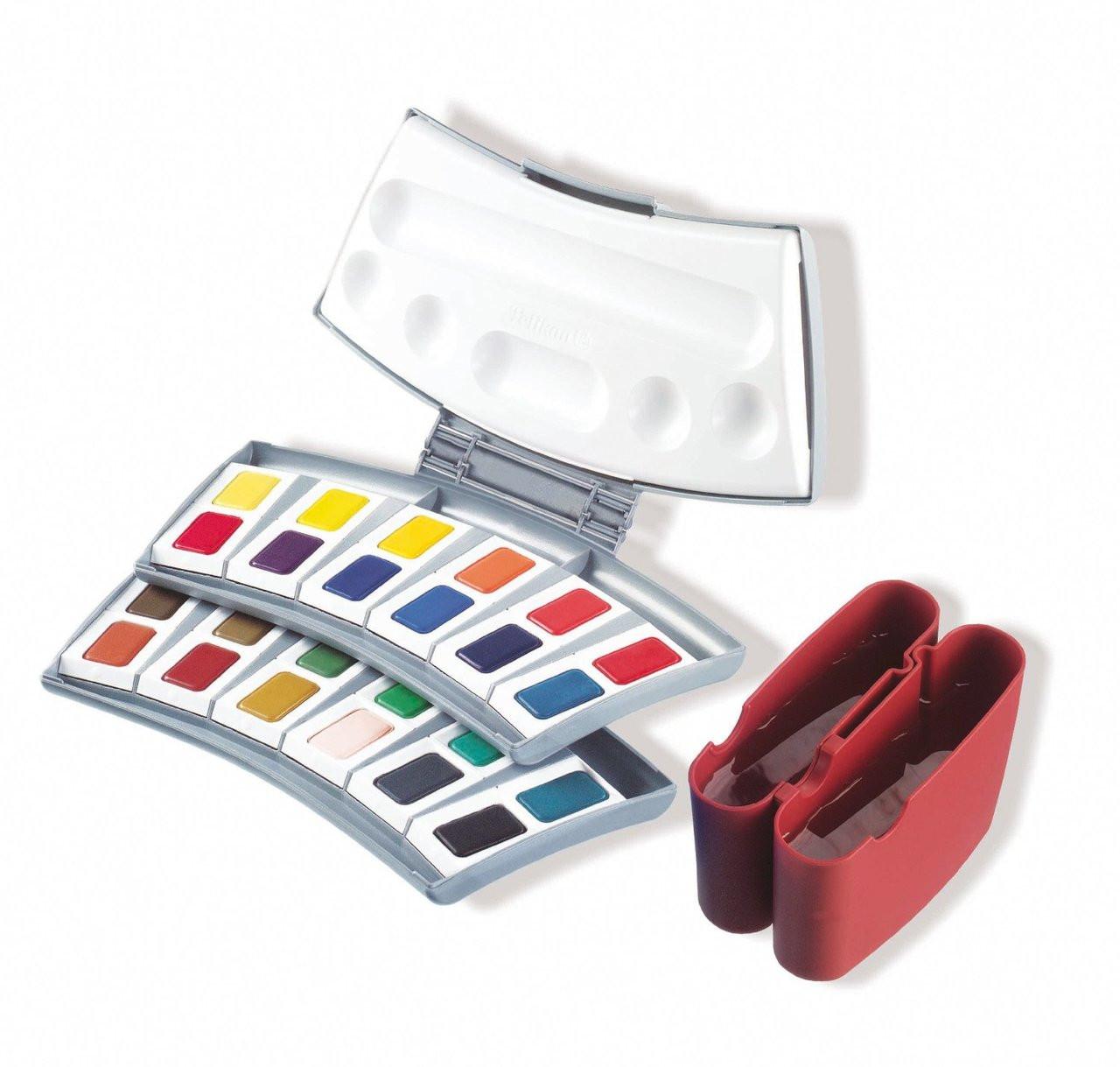 Pelikan Transparent Watercolor 24pc Set