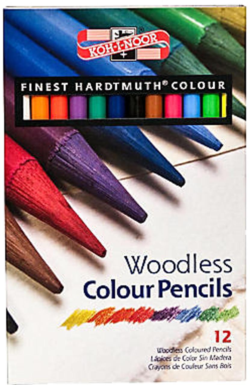 Koh-I-Noor Woodless Color Pencil 12-set