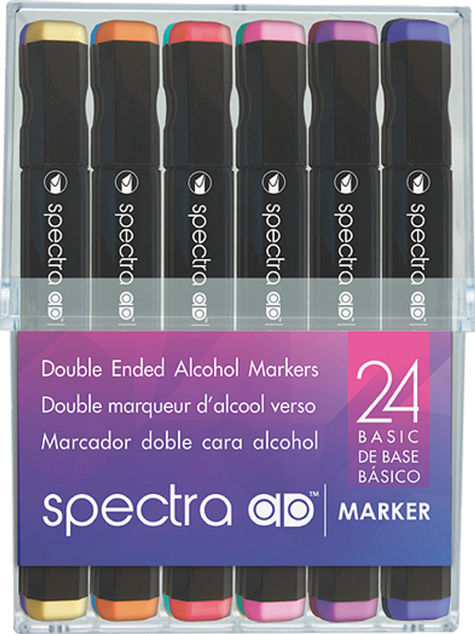 Spectra AD Marker Basic Set 24pc