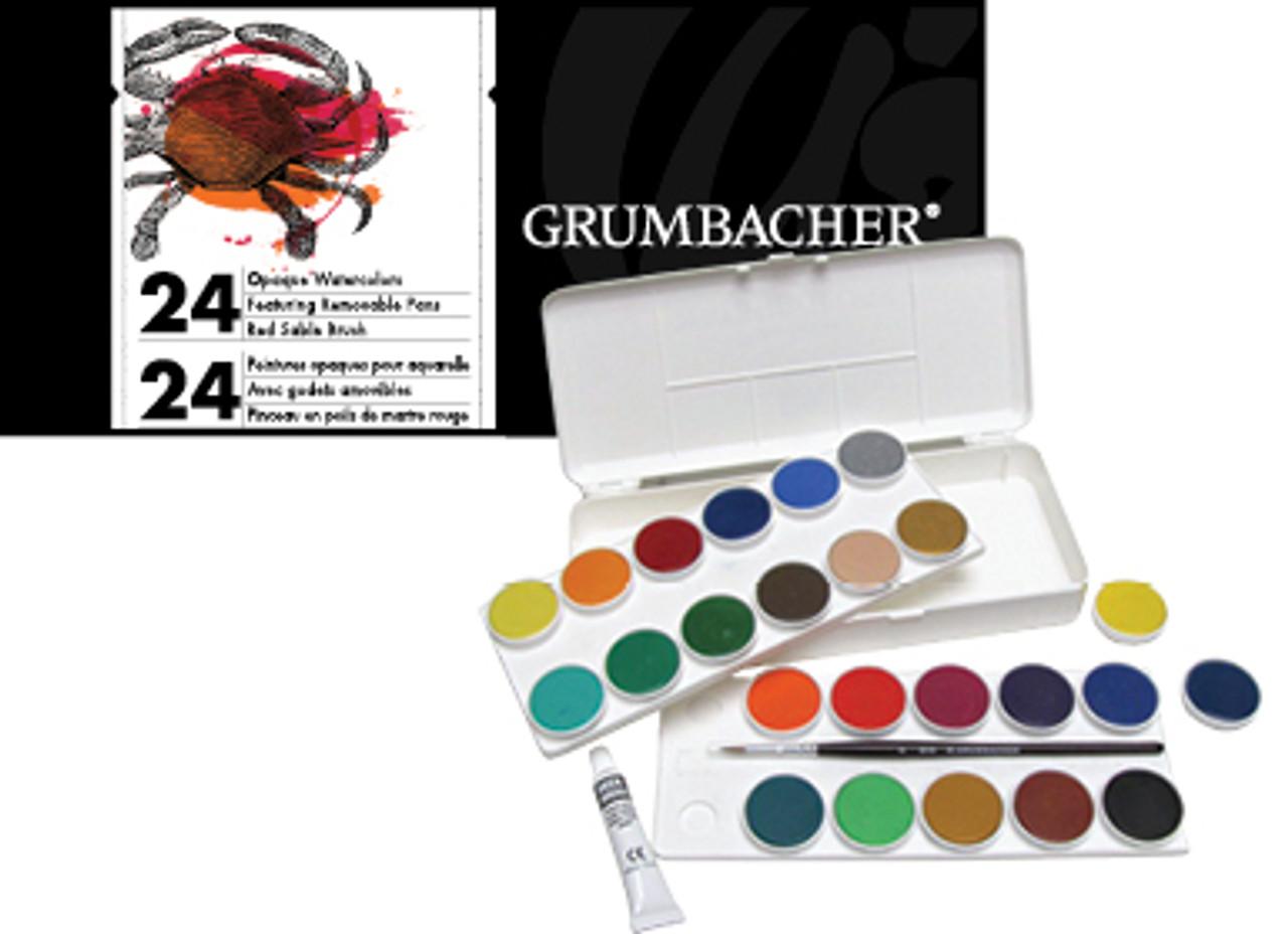 Grumbacher Opaque Watercolor 24pc Set