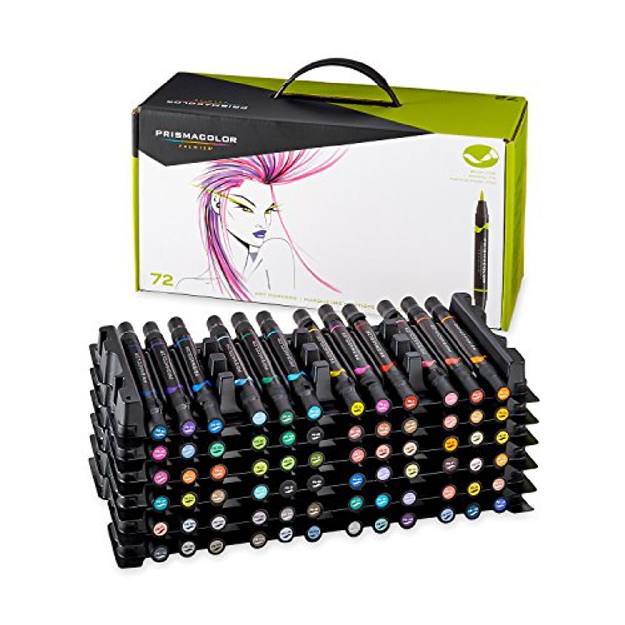 Prismacolor Brush Marker 72pc Set