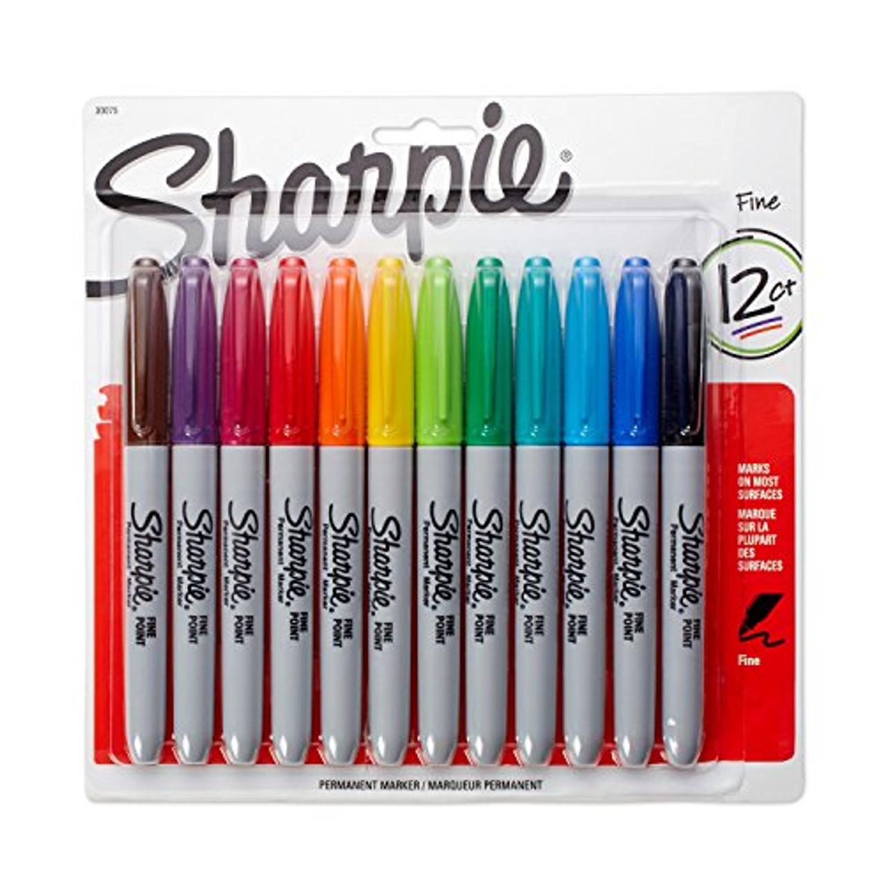Sharpie Marker Fine 12pc Set
