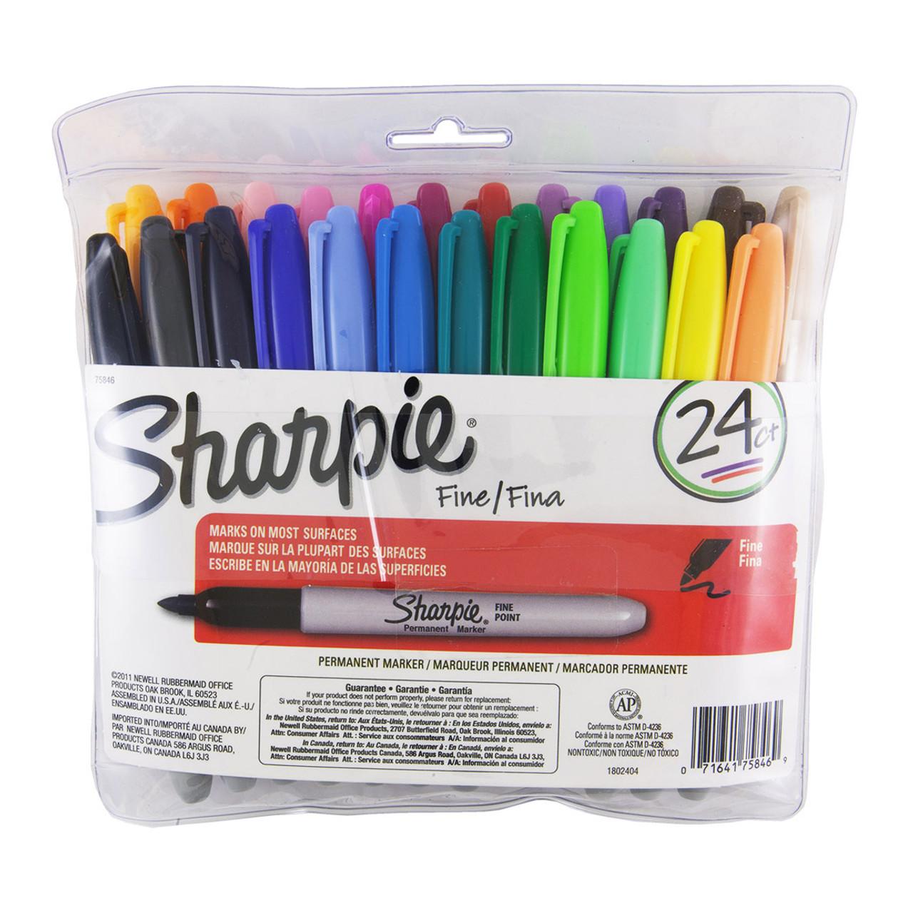 Sharpie Marker Fine 24pc Set