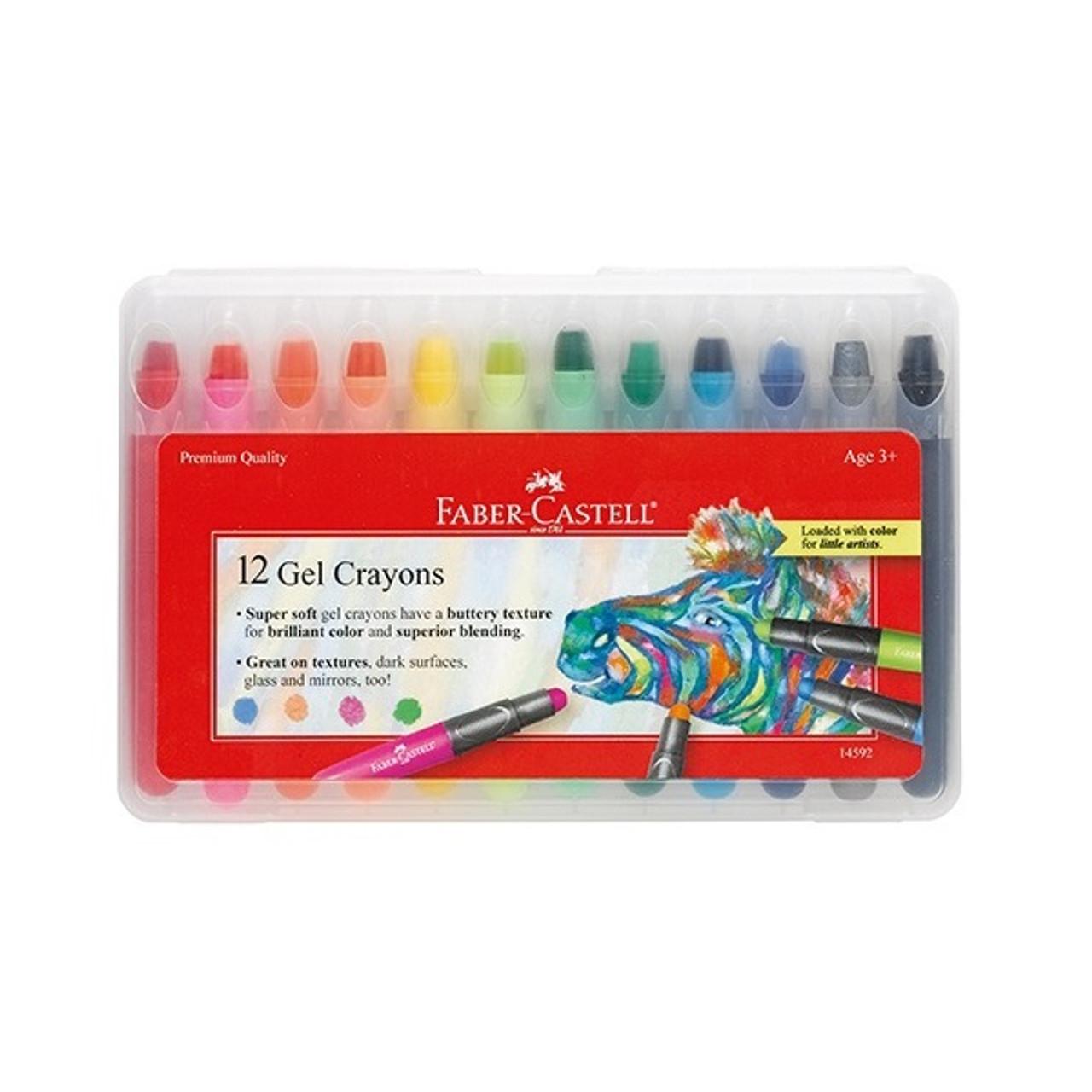 Gel Crayons 12/Set