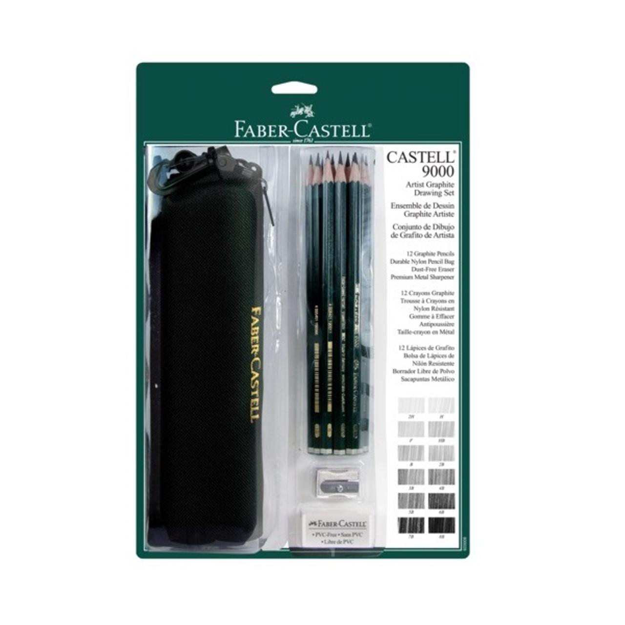 Castell 9000 Nylon Bag Set 15pc
