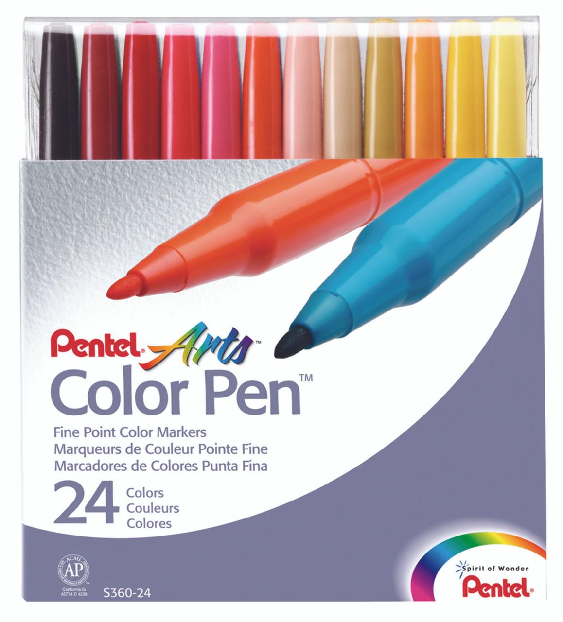 Pentel Color Pen Set