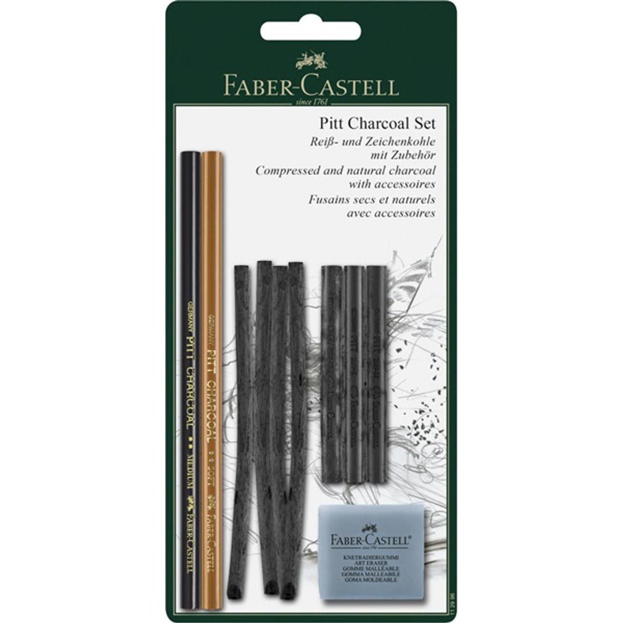 Pitt Charcoal 10pc Set