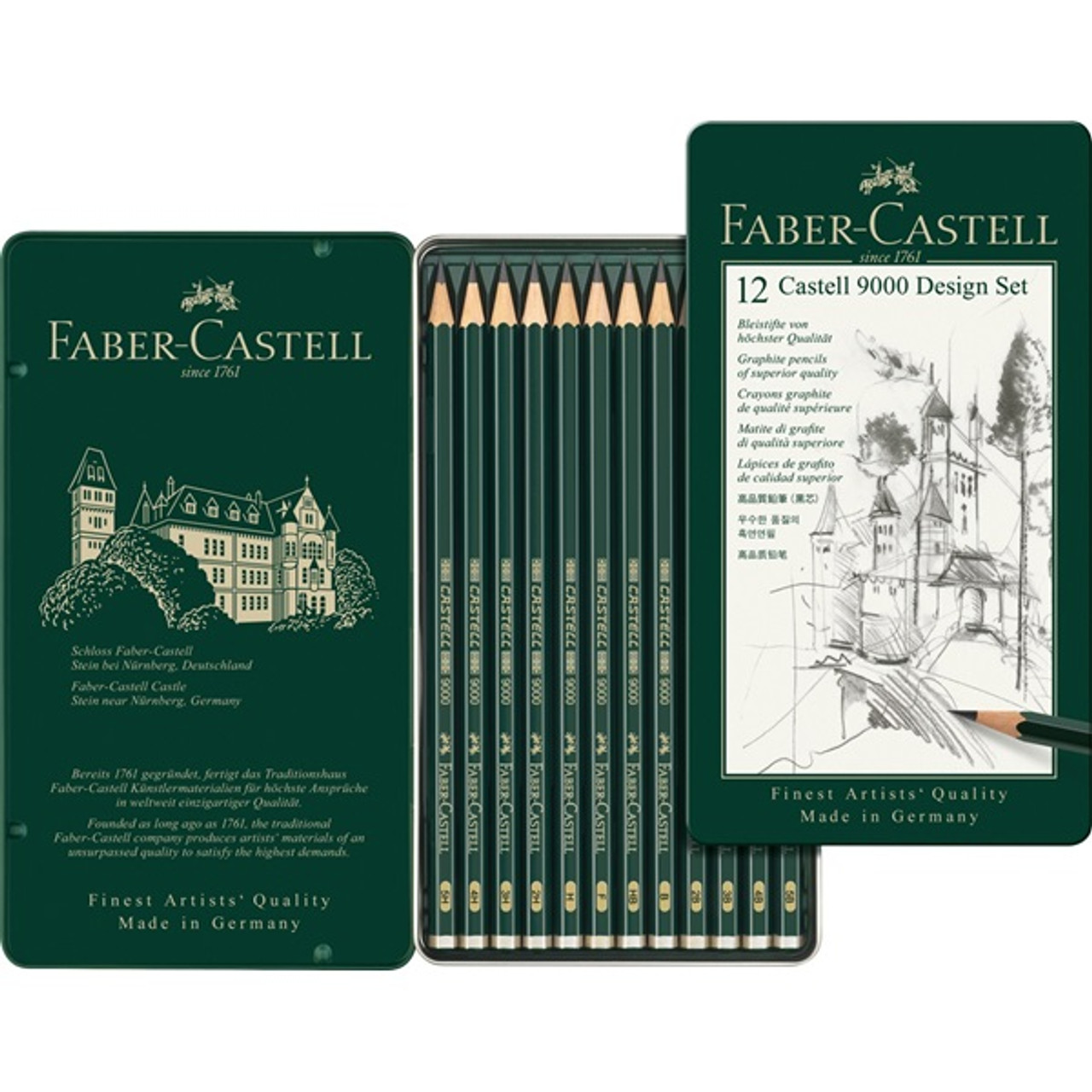 Castell 9000 Design Set 12pc