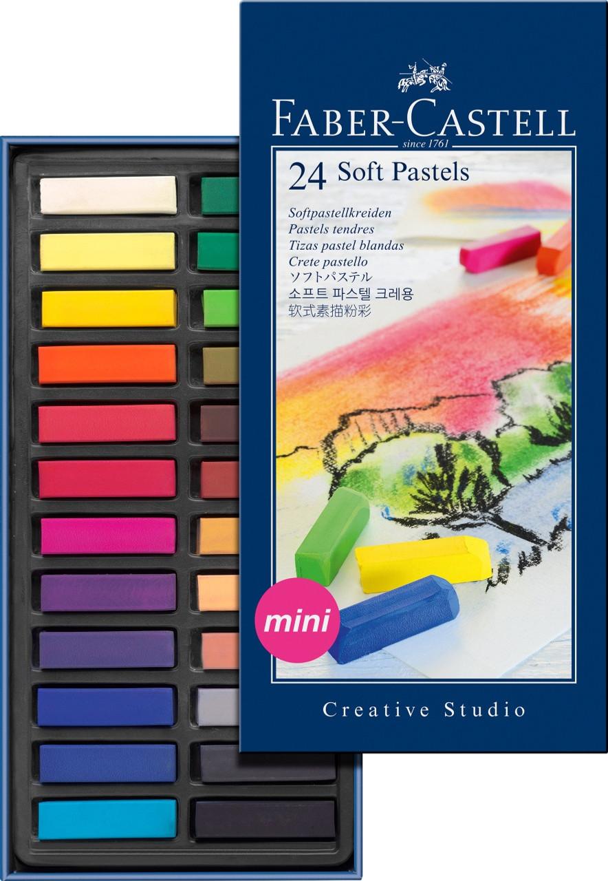 Creative Studio Soft Pastel 24pc Set