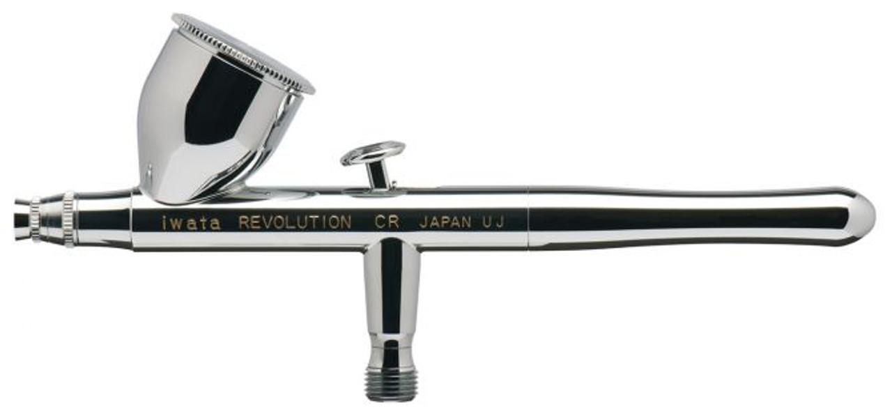 Iwata Revolution HP-CR Gravity Feed Dual Action Airbrush