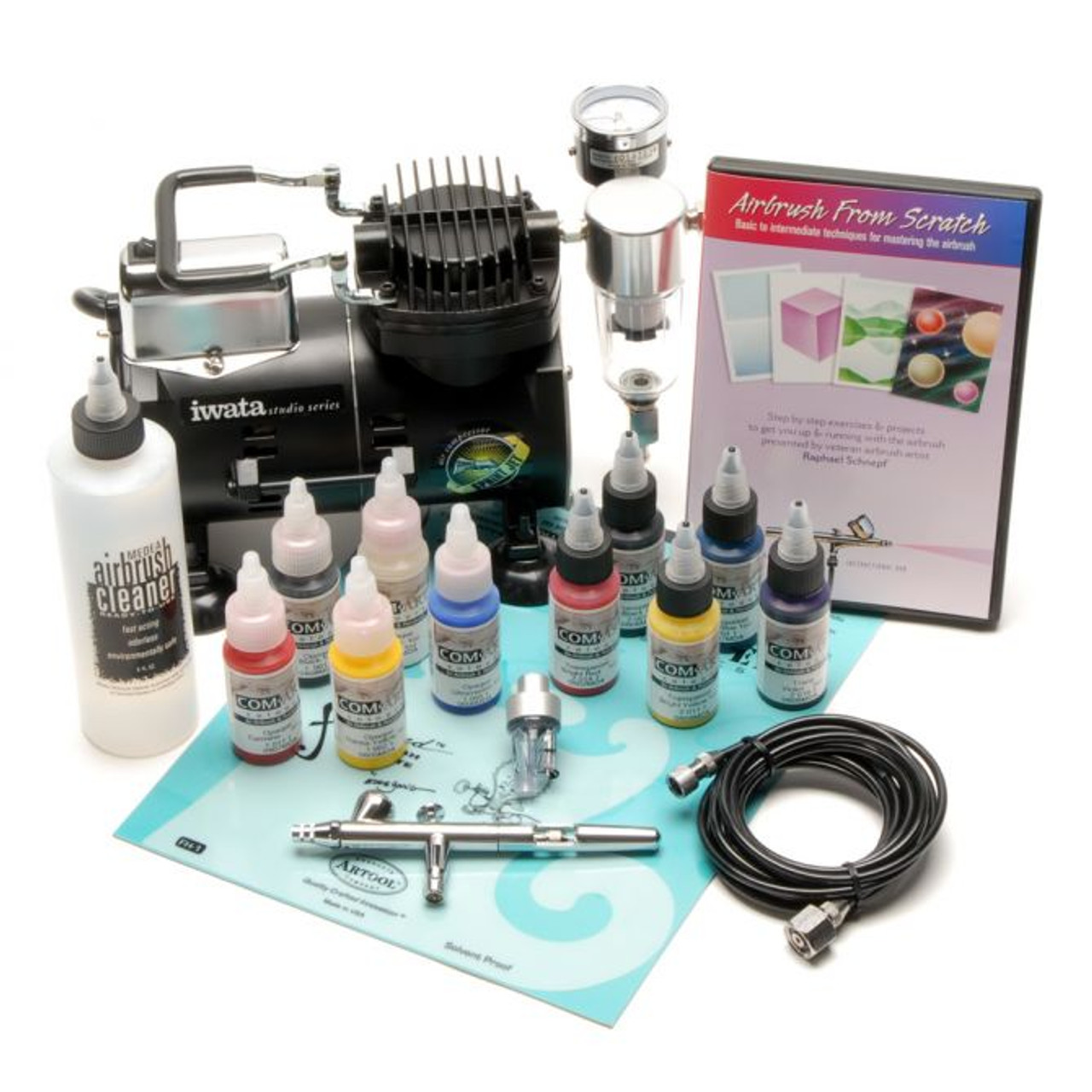 Iwata Intro Airbrush Set with Eclipse HP-BS