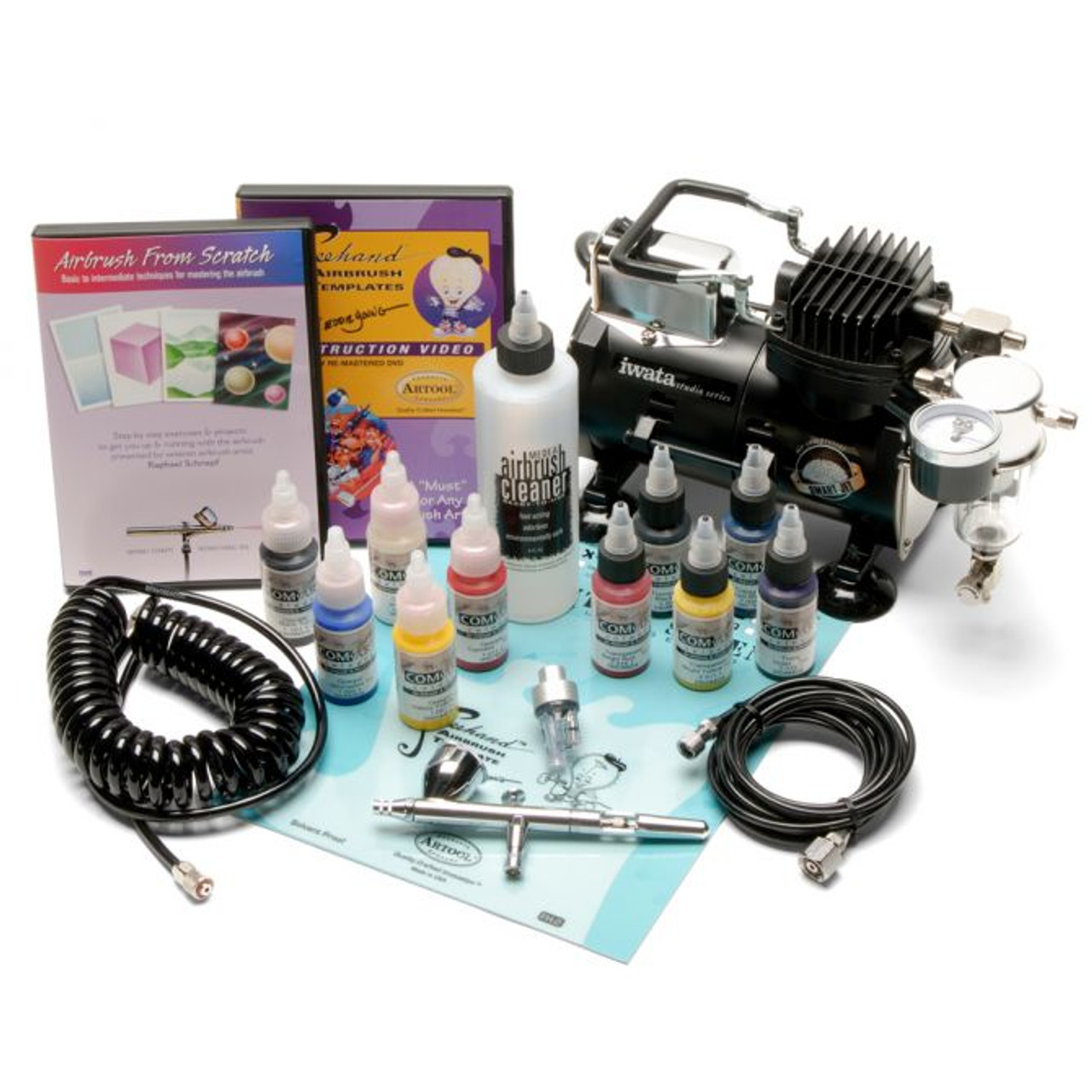 Iwata Deluxe Airbrush Set with Eclipse HP-CS