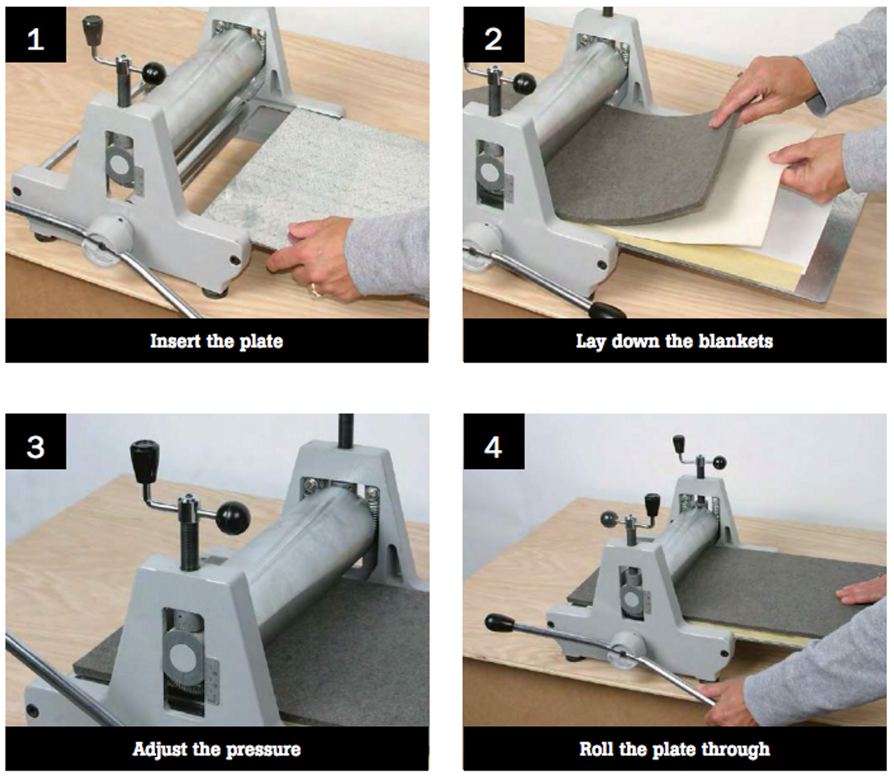 How to use the press