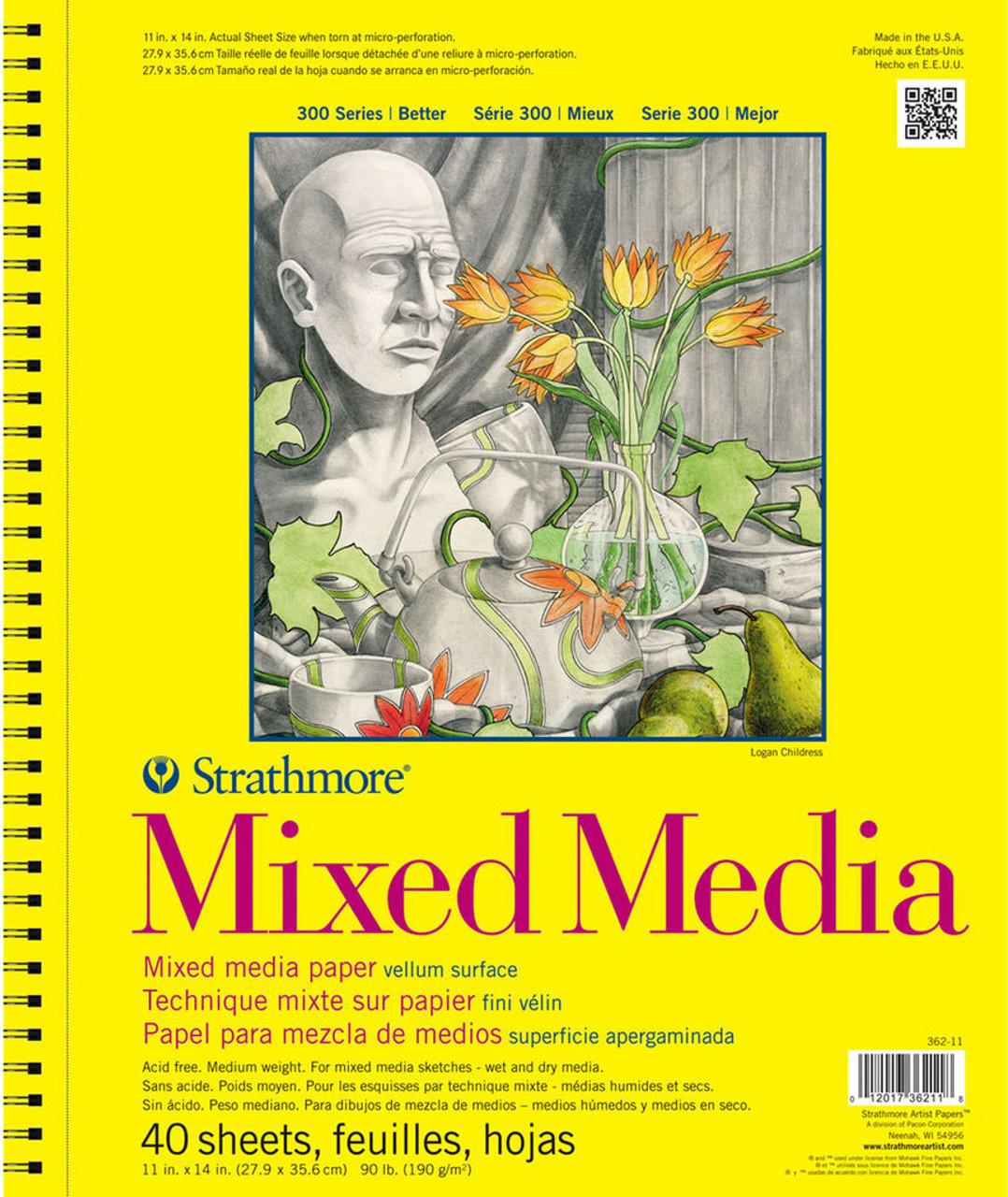 Strathmore 300 Series Mixed Media Pad 9x12