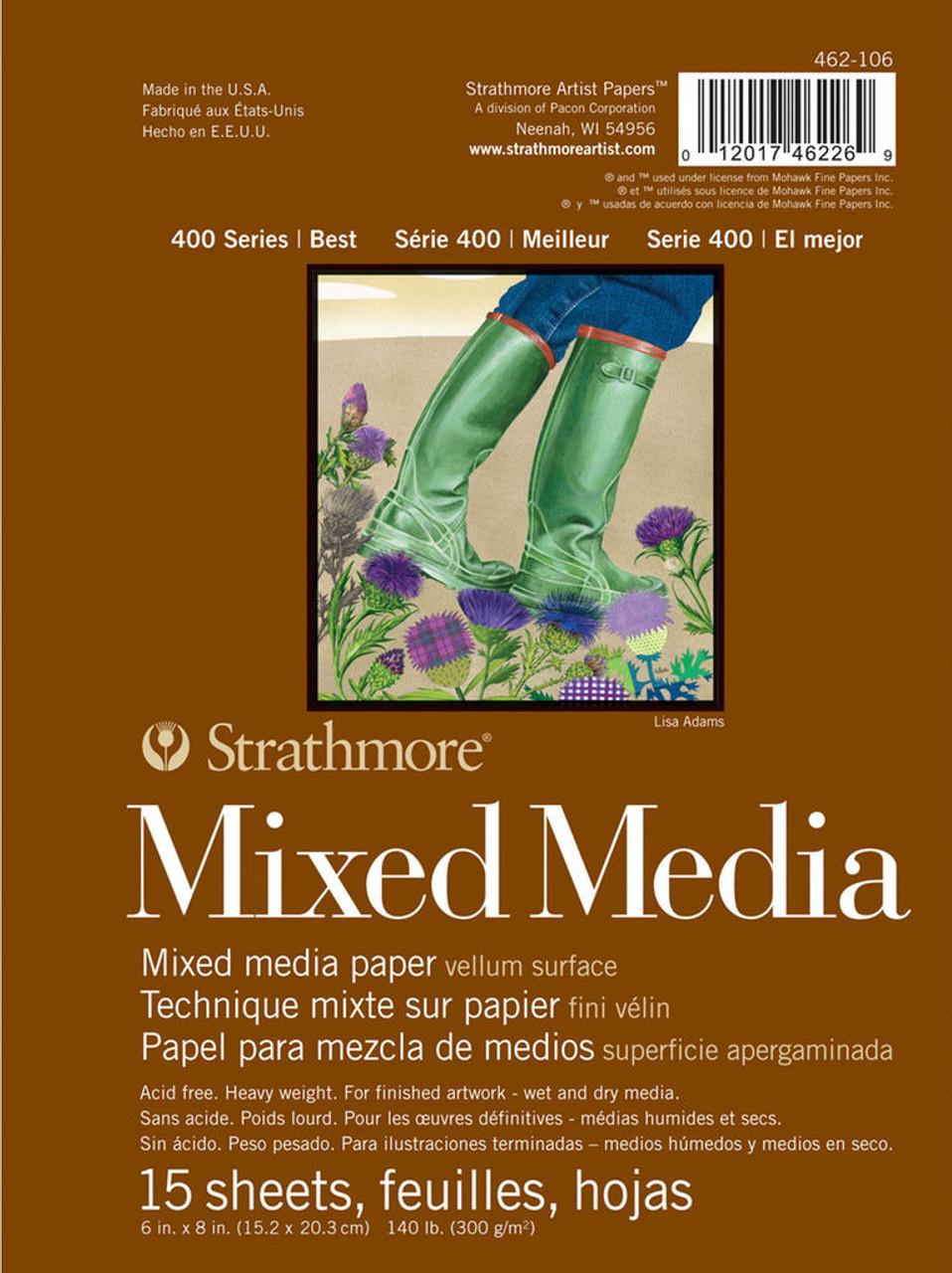 Strathmore 400 Series Mixed Media Pad 9x12