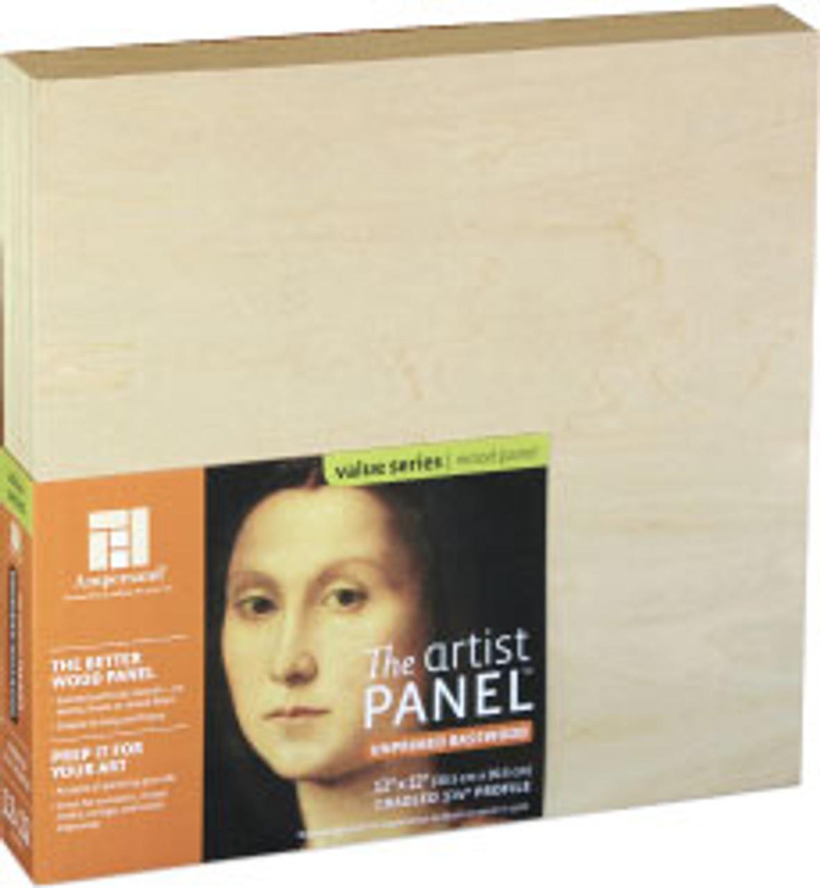 Ampersand Basswood Panel Cradled 6x6