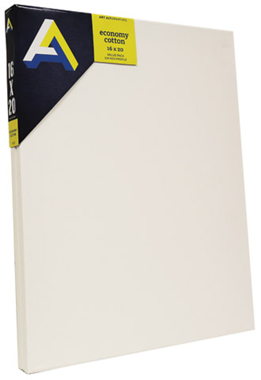 Economy Cotton Stretched Canvas 2-packs