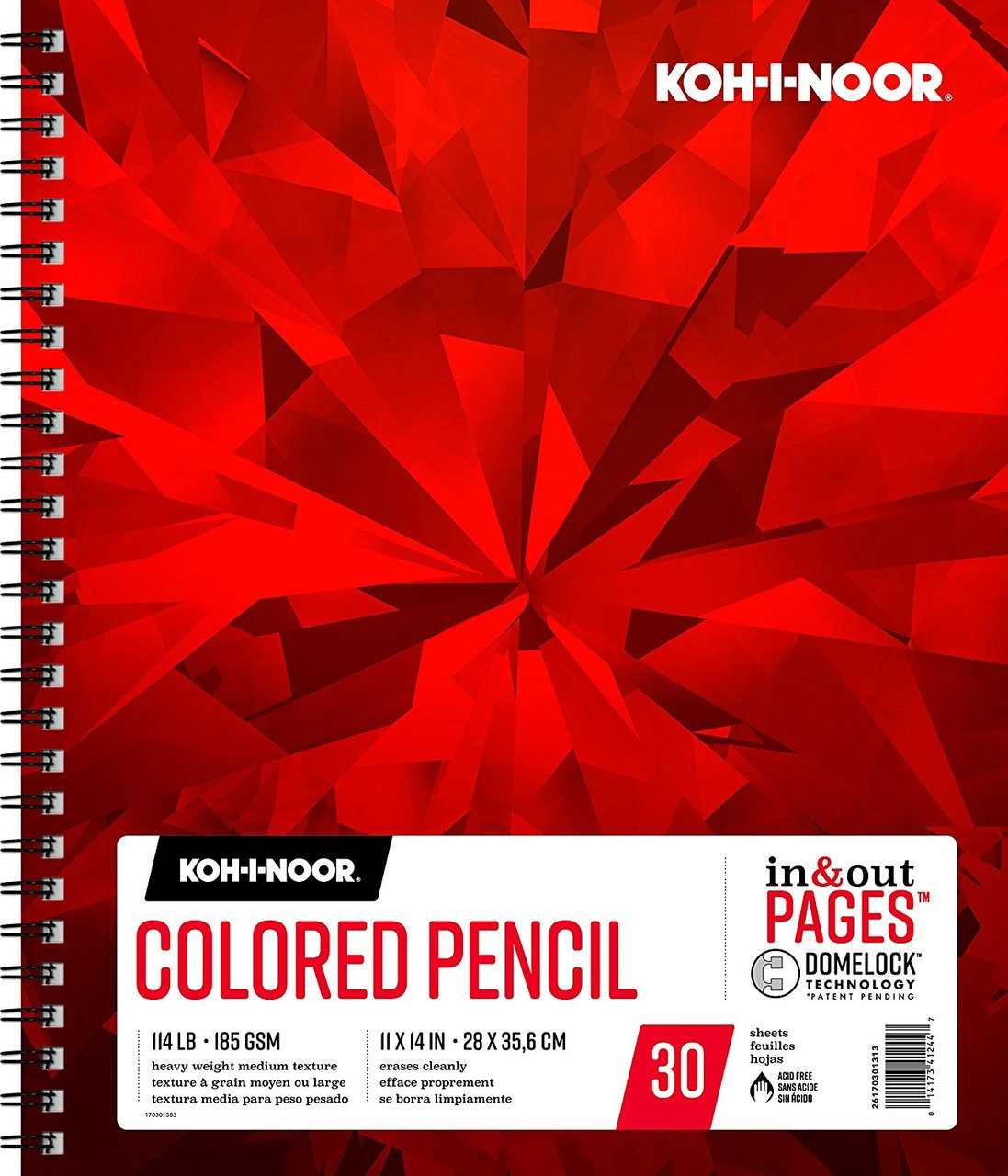 Koh-I-Noor Colored Pencil Pad 11x14