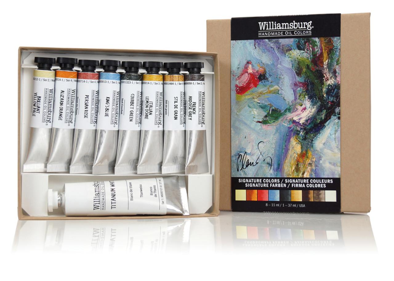 Williamsburg Oil Color Sets - Signature