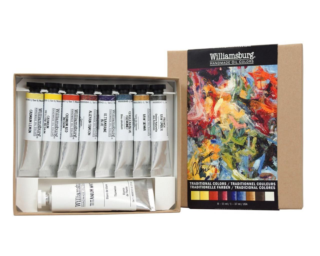 Williamsburg Handmade Oil Color Set - Traditional