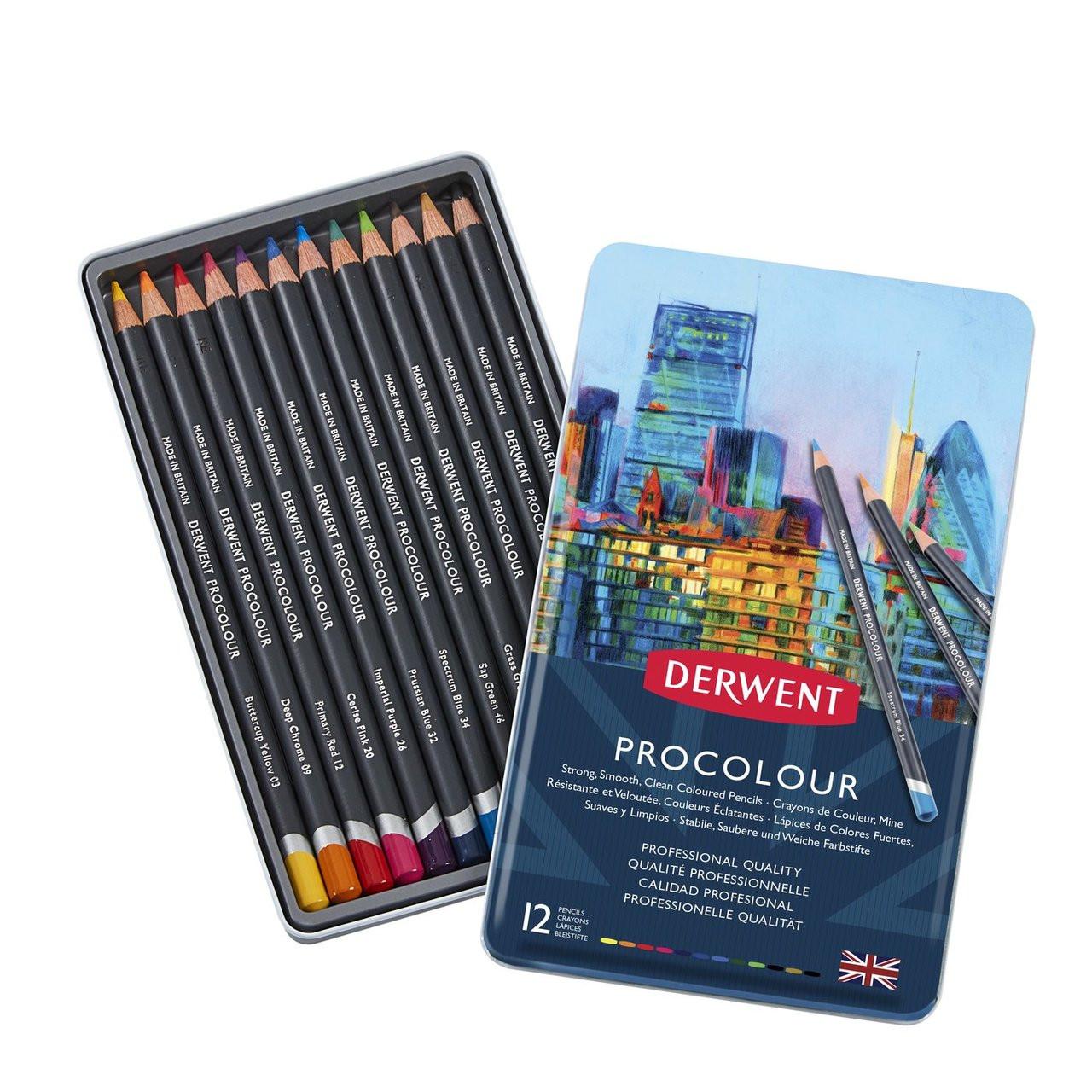 Derwent Procolor 12-Pencil Set