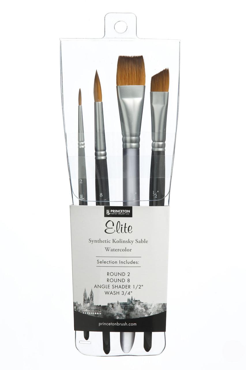 Princeton Elite Professional 4-brush Set