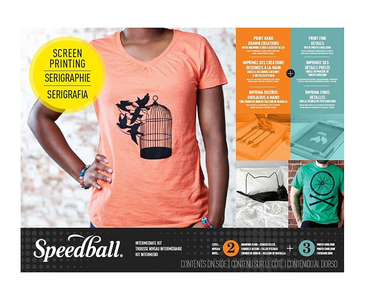 Speedball Intermediate Screen Printing Kit