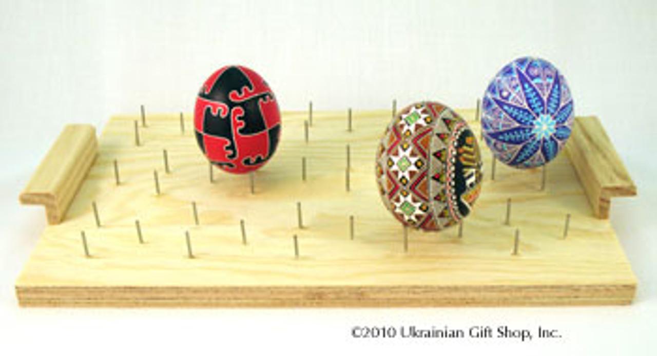 Ukrainian Egg Decorating Drying Board