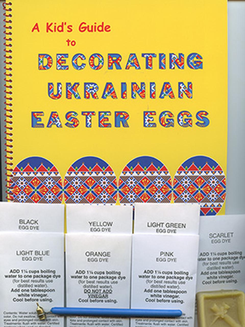 Ukrainian Egg Decorating Kid's Kit