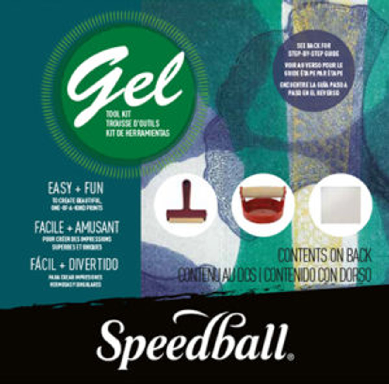 Speedball Gel Printing Tool Kit