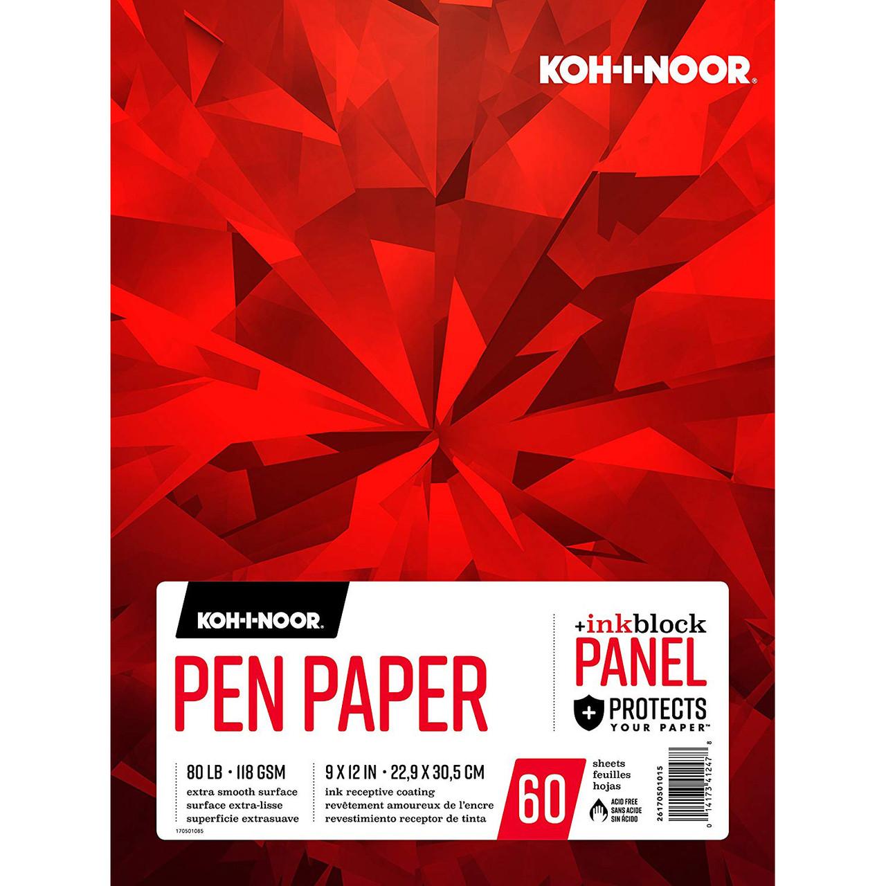 Koh-I-Noor Pen Paper Pad 9x12