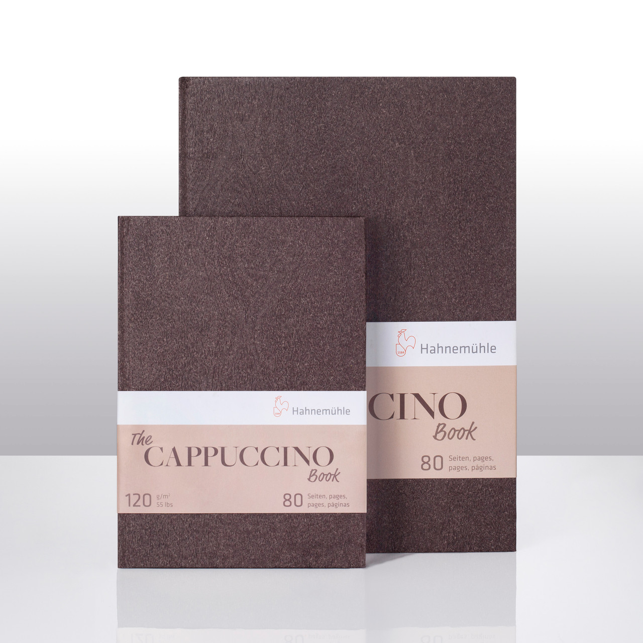 Hahnemuhle Cappuccino Sketch Books, A4 (8.3x11.7) and A5 (5.8x8.3)