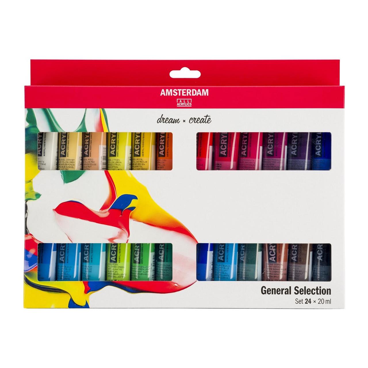Amsterdam Standard Series Acrylic Paint 24-20ml Set