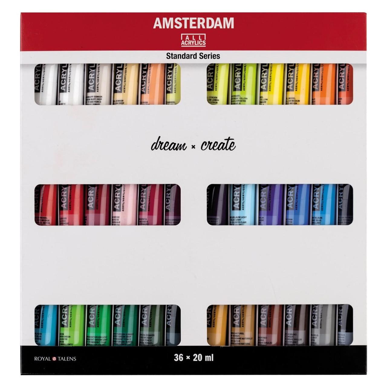 Amsterdam Standard Series Acrylic Paint 36-20ml Set