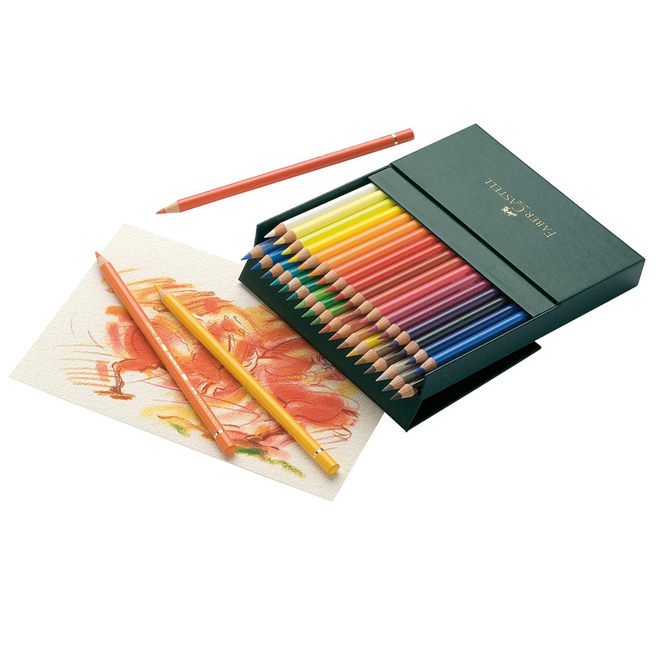 Faber-Castell Polychromos Lightfast Pencil 36pc Studio Box