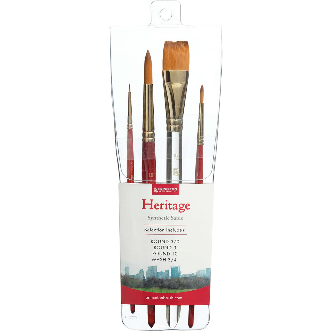 Princeton Heritage Professional 4-brush Set